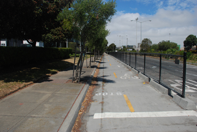 Cargo Way Bike Lanes